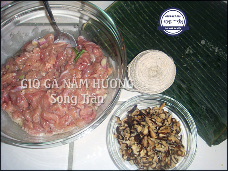 giò ga nấm hương hà nội